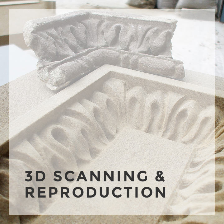 3d scanning reproduction service feature