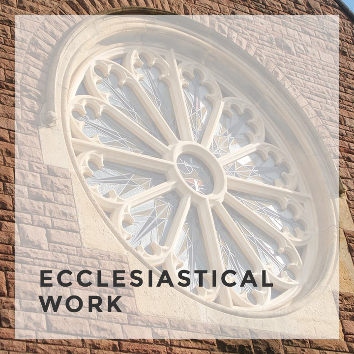 ecclesiastical work service feature