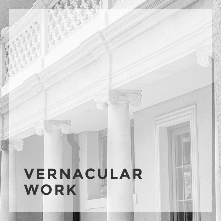 vernacular work service feature