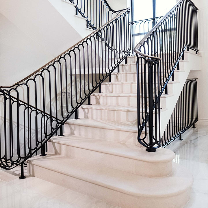 Portland Limestone Treads and Risers Private Residence London