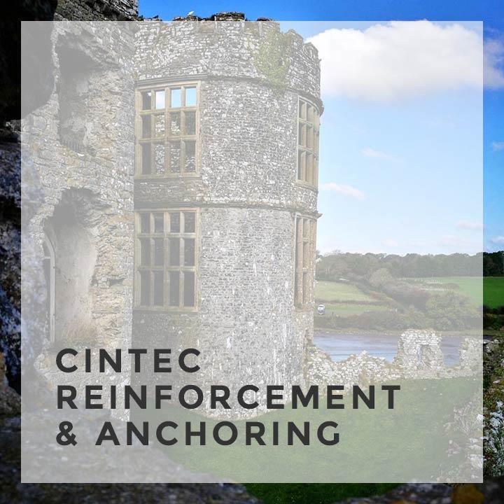 cintec reinforcement anchoring service feature