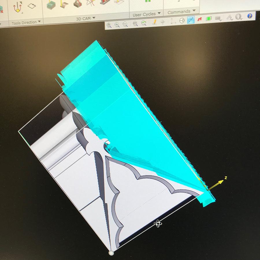 screen cad design service